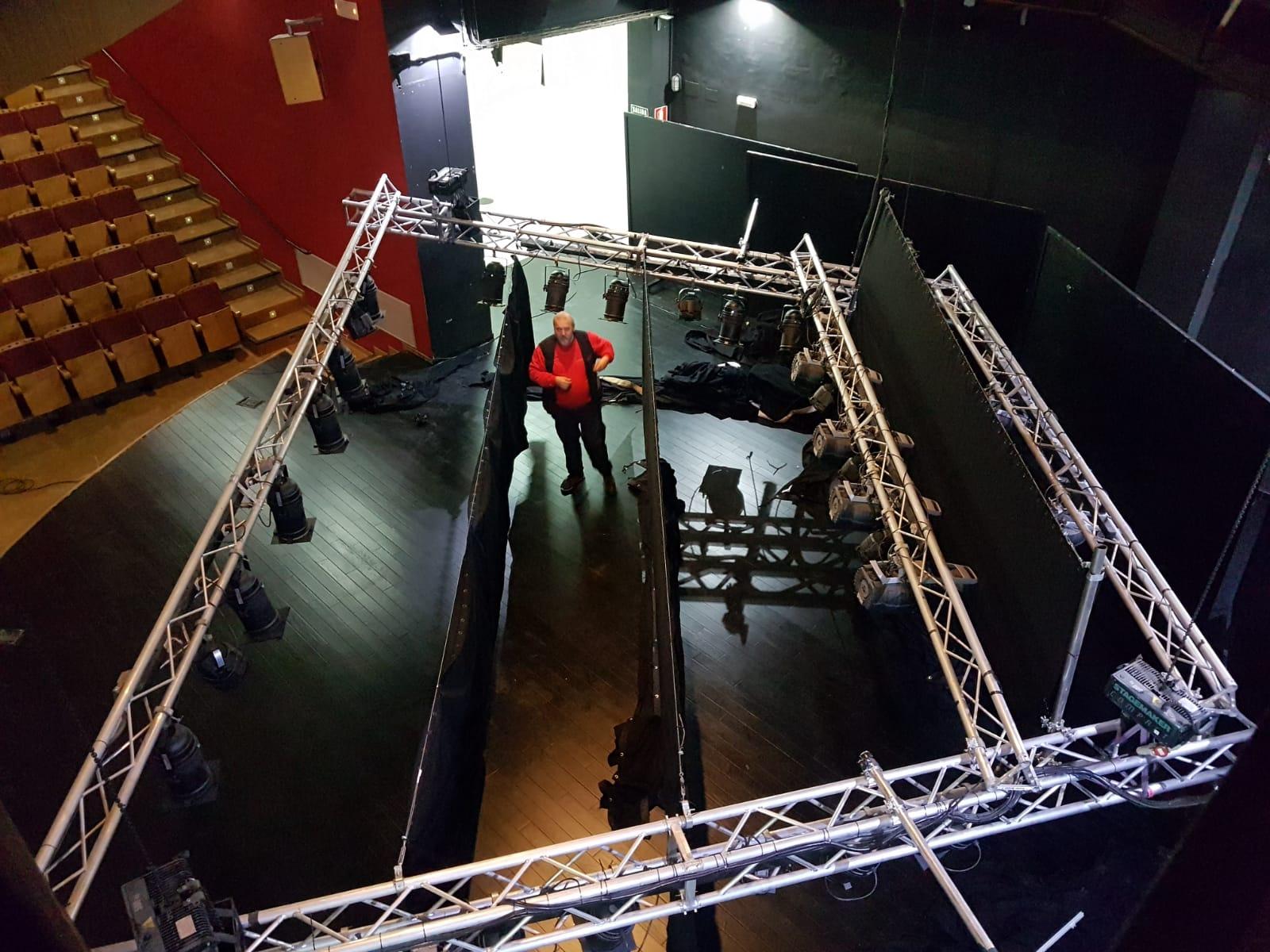 estructura truss para teatros