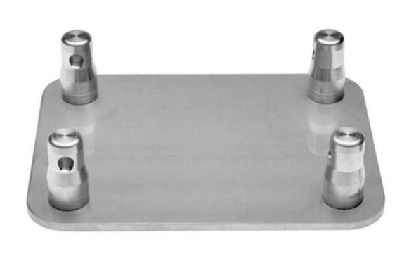 base metálica unión truss