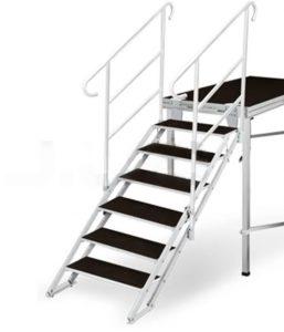 escaleras reforzadas para teatros