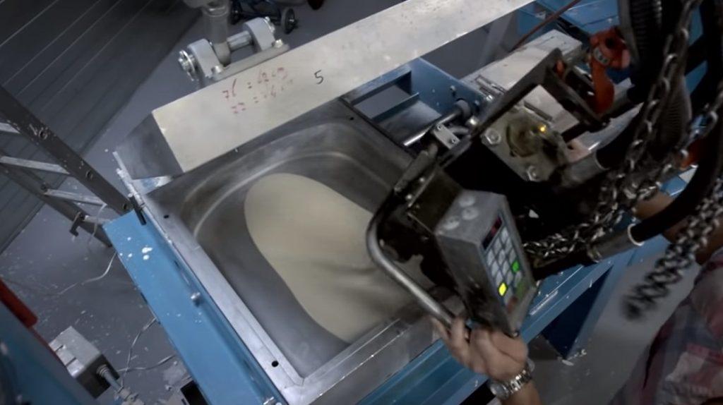 moldeo inyección butacas