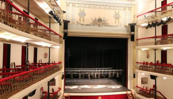 telones de teatros en segovia